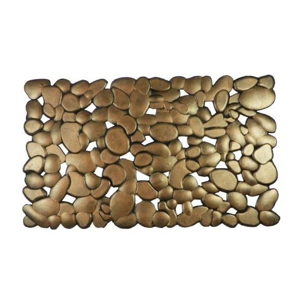 Gumová rohožka Mars&More Brass Stones, 75x45 cm