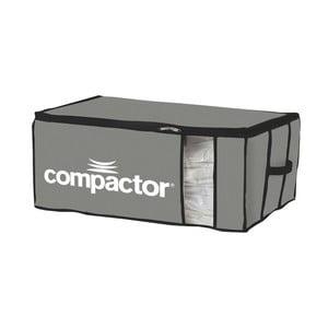 Šedý textilní úložný box Compactor Brand XXL