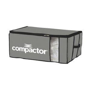 Cutie depozitare din material textil Compactor Brand XXL, gri
