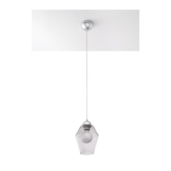 Šedé stropní svítidlo Nice Lamps Dora