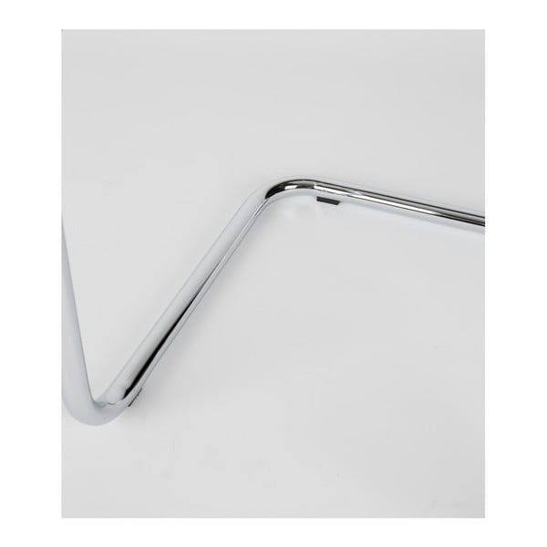 Antracitově šedá barová židle Zuiver Ridge Rib