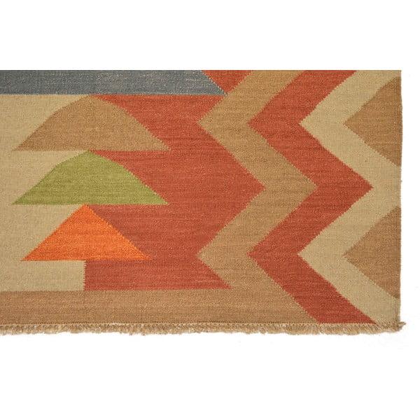Ručně tkaný koberec Bakero Kilim 15, 140x200 cm