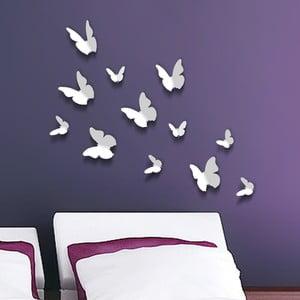 Autocolant 3D Walplus Butterflies White