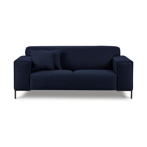 Modrá dvoumístná pohovka Cosmopolitan Design Seville
