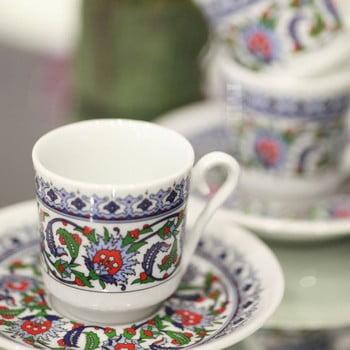 Set 6 cești cafea Ornament, 50ml