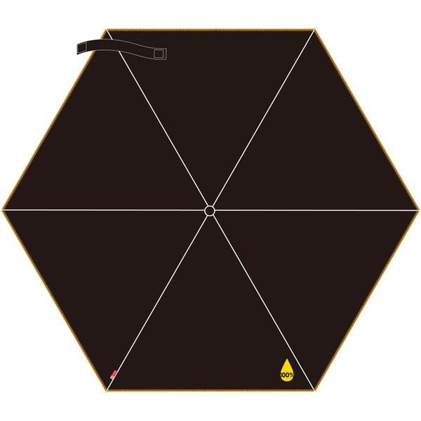 Skládací deštník NU 100 %, žlutý