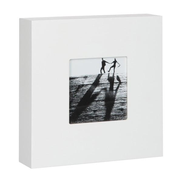 Fotorámeček Frame White, 20x20x5 cm