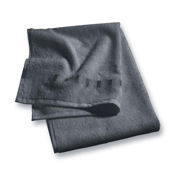 Antracitově šedý ručník Esprit Solid, 35x50cm