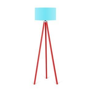Stojací lampa s tyrkysovým stínítkem Kate Louise Redish