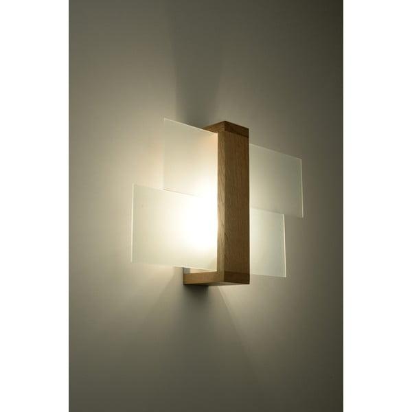 Nástěnné světlo Nice Lamps Leda Natural