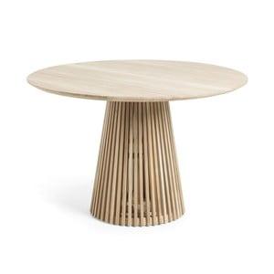 Konferenční stolek z týkového dřeva La Forma Irune, ø 120 cm