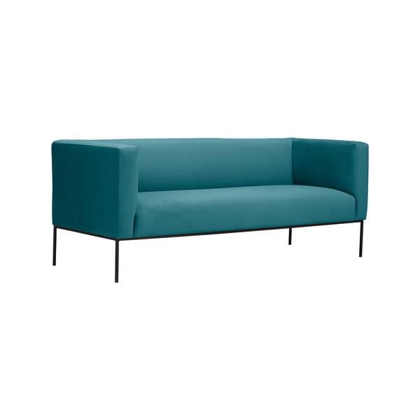 Tyrkysová trojmístná pohovka Windsor & Co Sofas Neptune