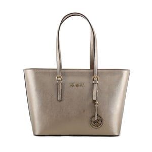 Krémová kabelka se zlatými odlesky Beverly Hills Polo Club Anne 09d21c54f3a
