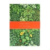 Sada 2 zápisníků Laura Ashley Living Wall by Portico Designs,100stránek