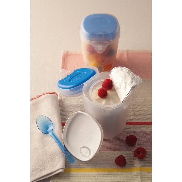 Chladící krabička na jogurt se lžičkou Yogurt Box