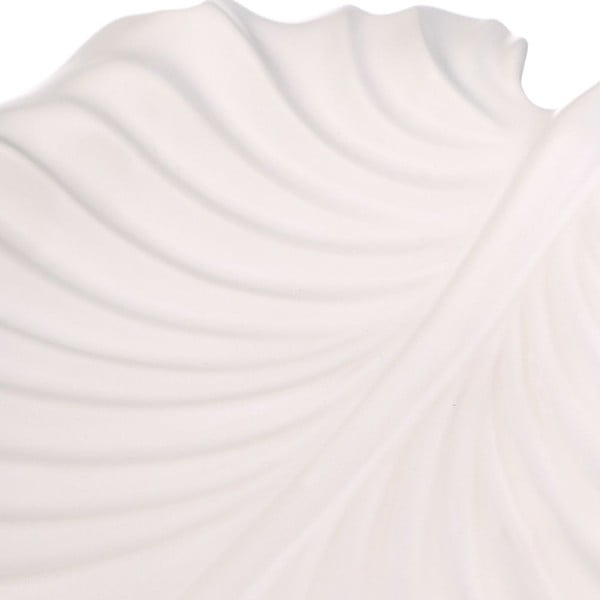Keramický tác Fall, bílý
