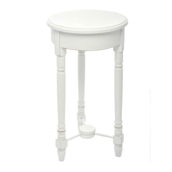 Dřevěný stolek Paulownia White, 60x35 cm z kavárny U Kubistů