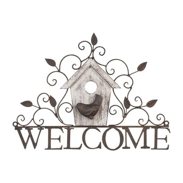 Závěsná dekorace Welcome Hanger, 37 cm