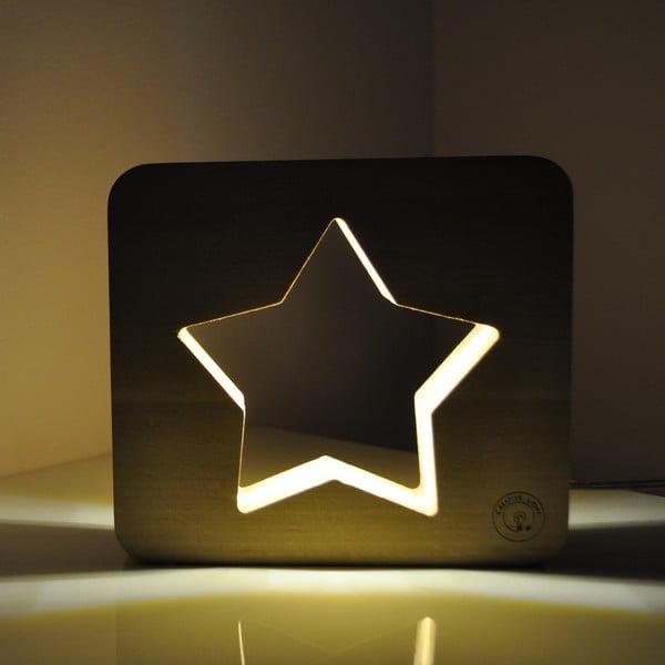 Dětská lampička Creative Gifts Hvězdička