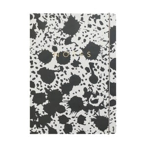 Zápisník A4 Portico Designs Splat, 160stránek
