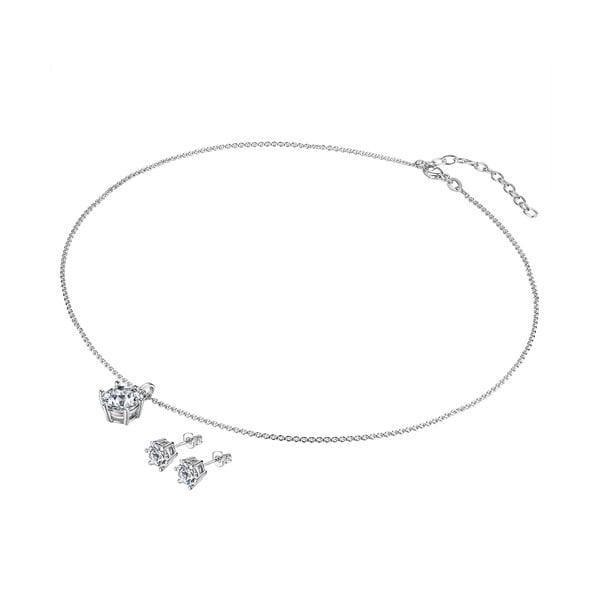 Sada náhrdelníku a náušnic s krystaly Swarovski Lilly & Chloe Abelle