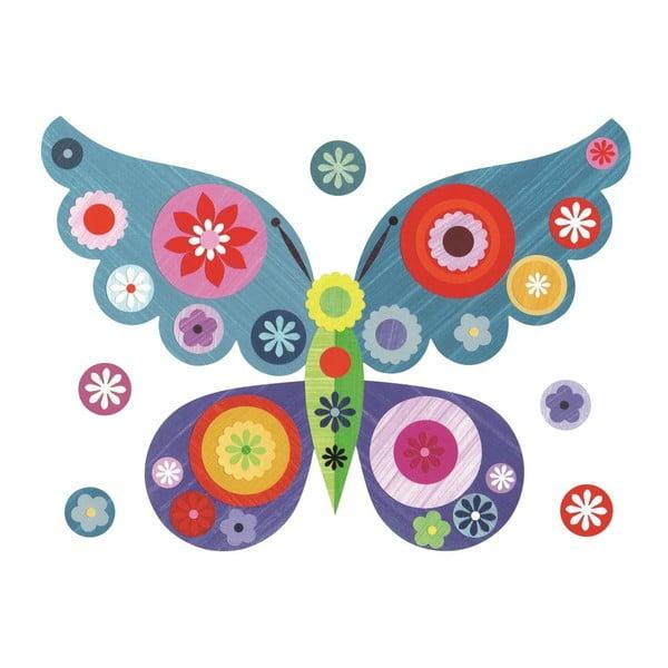 Samolepka Pink Butterfly Mini