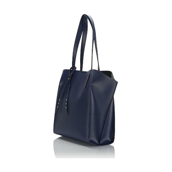 Kožená kabelka Giorgio Costa 15015 Blue