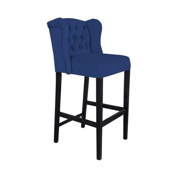 Modrá barová stolička Mazzini Sofas Roco