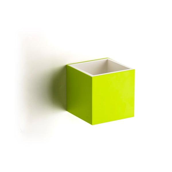 Nástěnná krabička Pixel Box, zelená