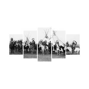 Vícedílný obraz Black&White no. 18, 100x50 cm