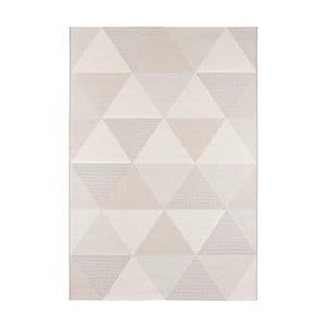 Krémovobéžový koberec vhodný i na ven Elle Decor Secret Sevres, 140 x 200 cm