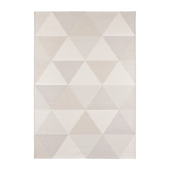 Covor adecvat și și pentru exterior Elle Decor Secret Sevres, 80 x 150 cm, crem bej de la Elle Decor