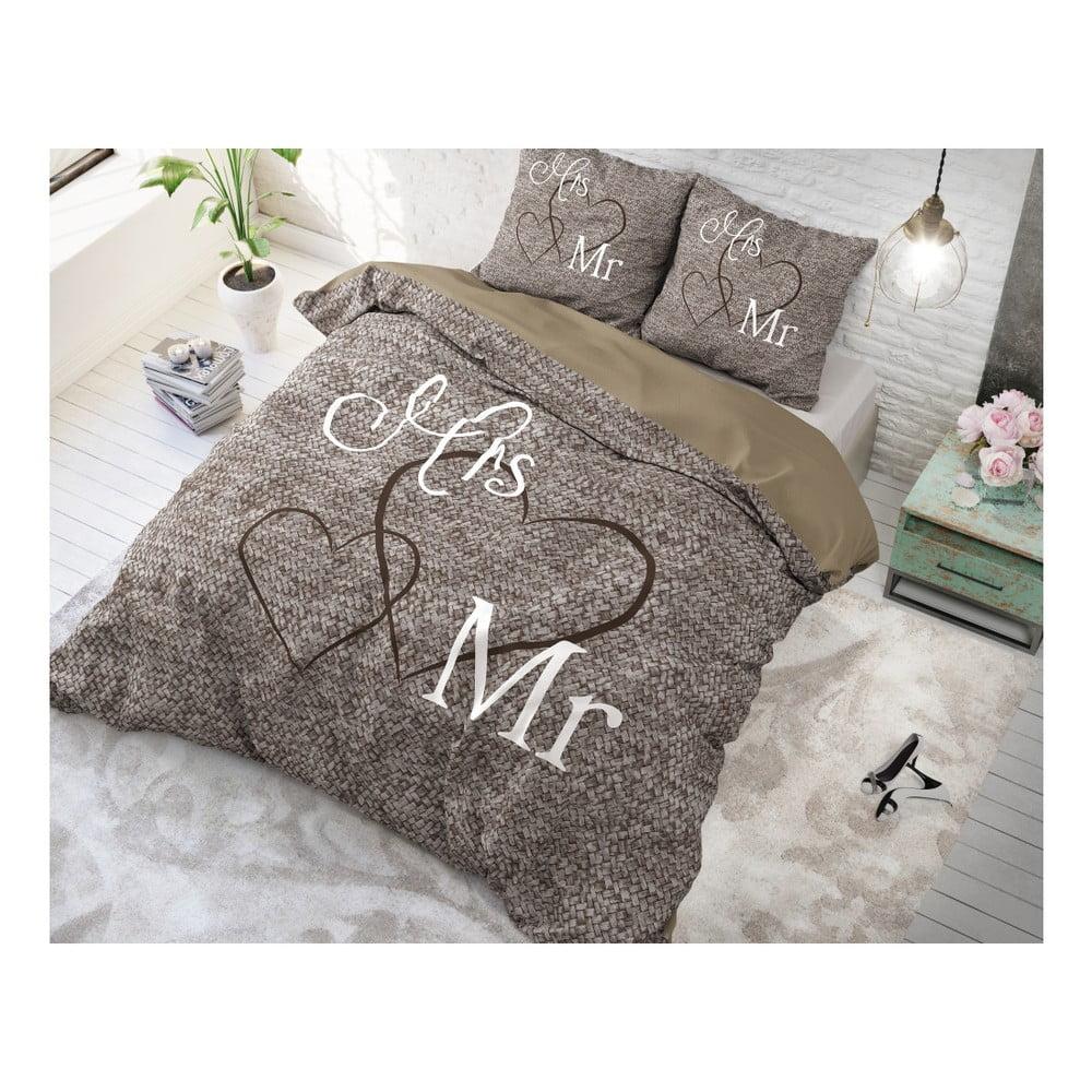 Bavlněné povlečení na jednolůžko Sleeptime Misses, 140 x 220 cm