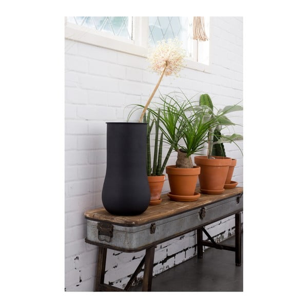 Černá váza Zuiver Blob