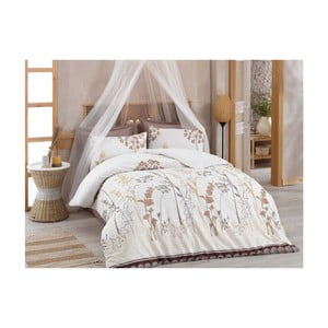 Lenjerie de pat cu cearșaf Carter, 200 x 220 cm