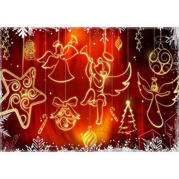 Covor Vitaus Christmas Period Hanging Shapes, 50 x 80 cm de la Vitaus