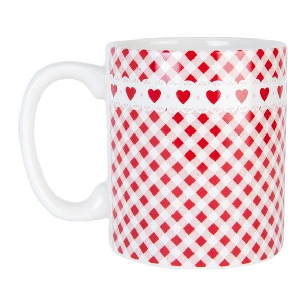 Cană Clayre & Eef Dots, roșu-alb