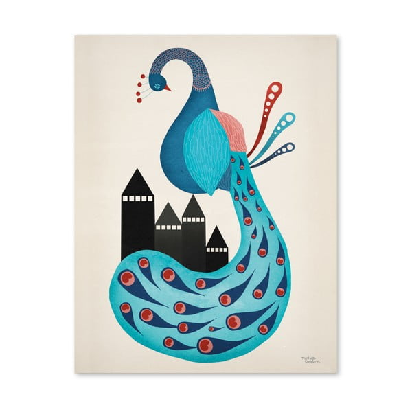 Plakát Michelle Carlslund Peacock, 30x40cm
