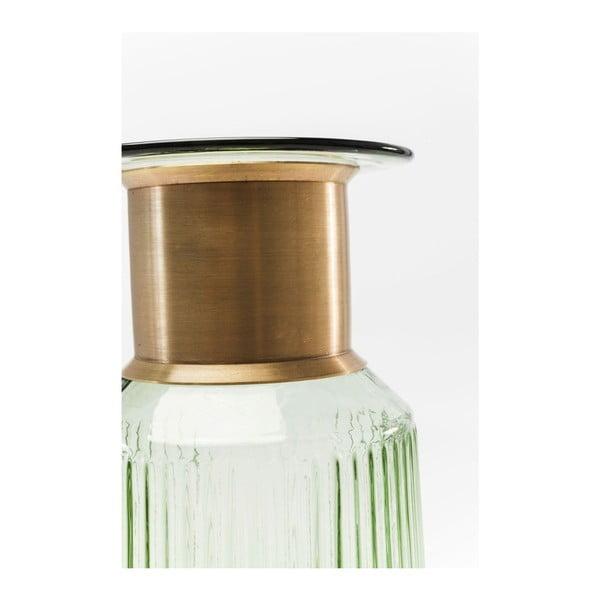 Světle zelená váza Kare Design Barfly Green, 30cm