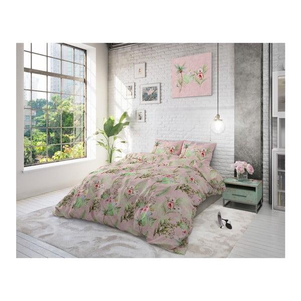 Bavlněné povlečení na dvoulůžko Sleeptime Soft Roses, 200 x 220 cm