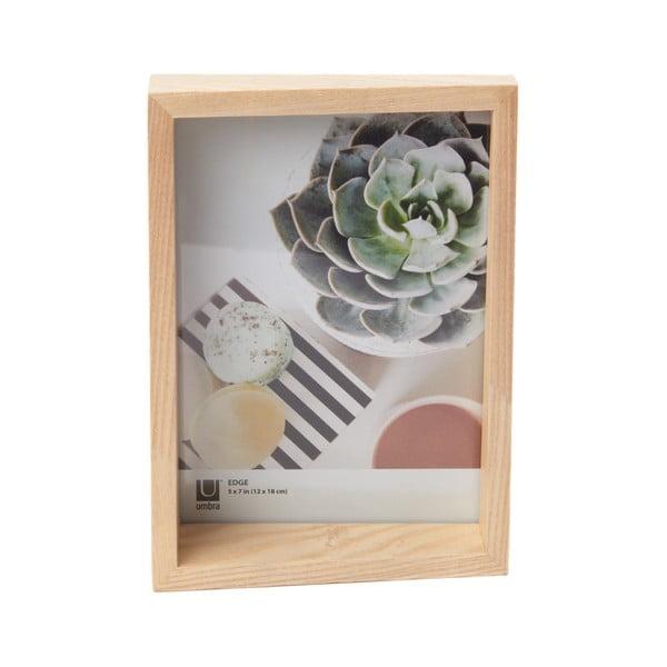 Dřevěný rám na fotografii Umbra Edge, 14x19cm