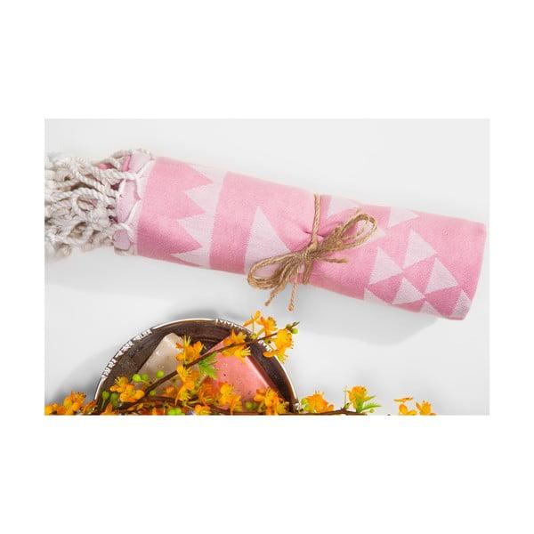 Hammam osuška Arcane, růžová