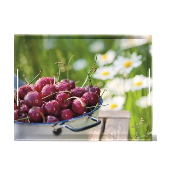 Podnos Classic Cherries, 40x31 cm