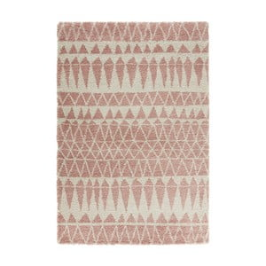 Šedorůžový koberec Mint Rugs Allure Rose, 80x150cm