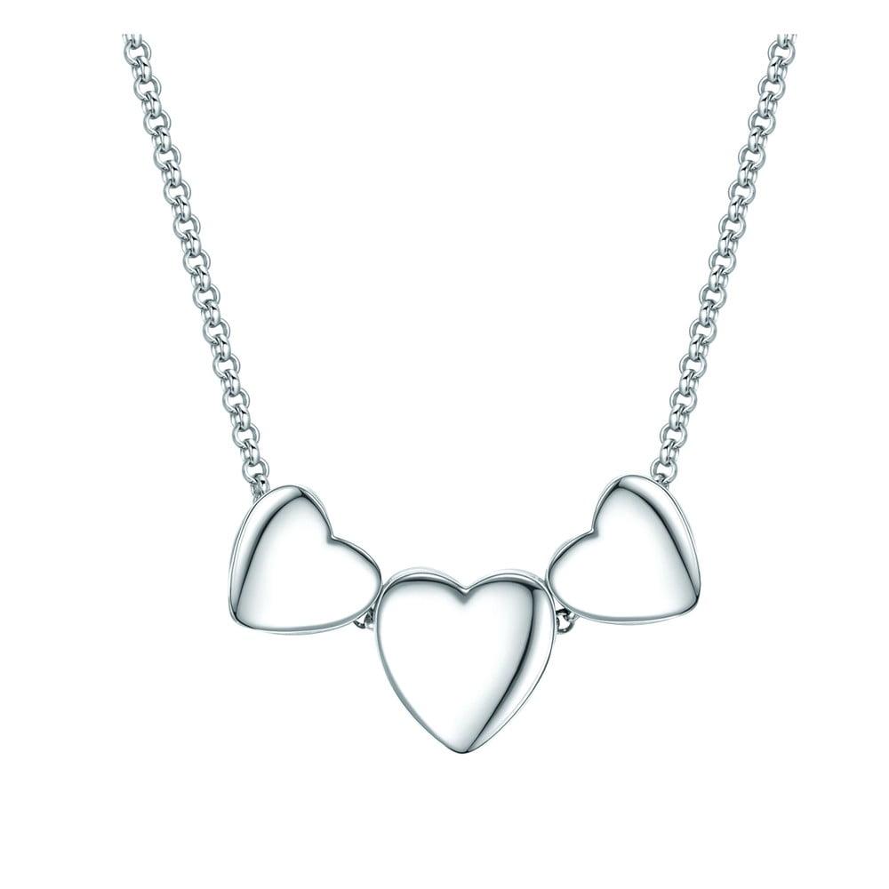 b31d0a52a Dámský náhrdelník stříbrné barvy Tassioni Lovely | Bonami