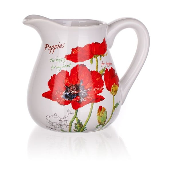 Džbánek Red Poppies, 880 ml