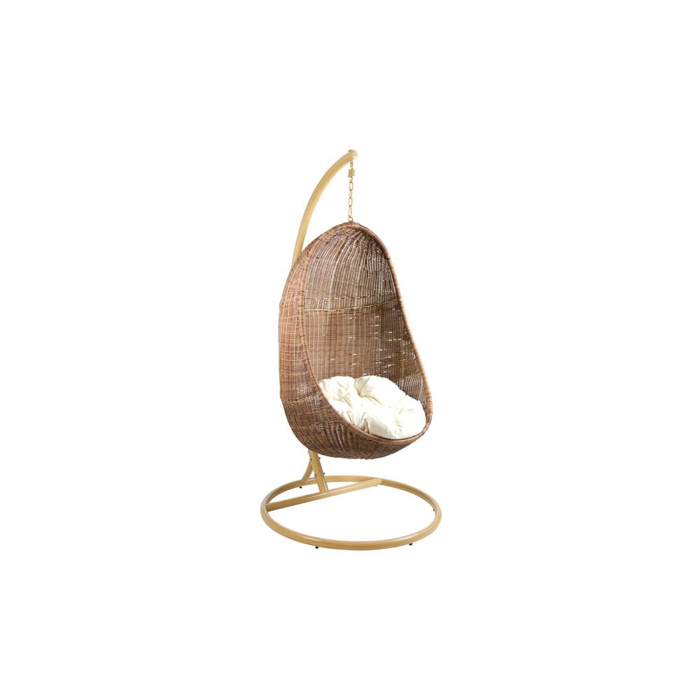 Houpací křeslo ze dřeva mindi Santiago Pons Dancing