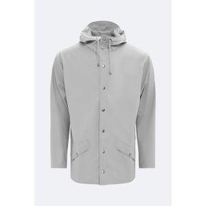 Šedá unisex bunda s vysokou voděodolností Rains Jacket, velikost XXS/XS