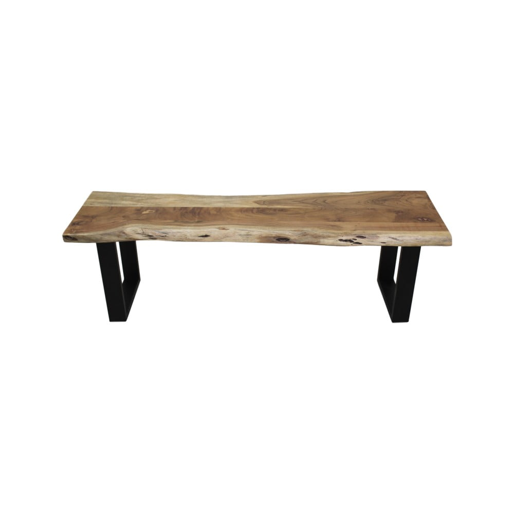 Lavice ze dřeva a kovu HSM collection SoHo, délka 150 cm