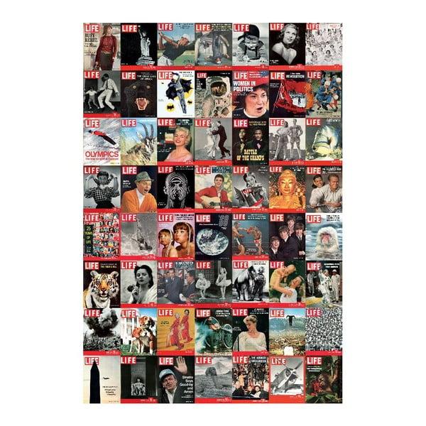 Velkoformátová tapeta Časopis LIFE, 158x232 cm